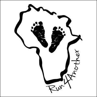 run logo w black border